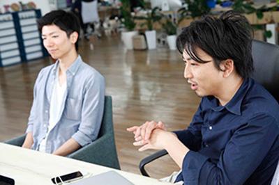 亀谷 長翔さん、赤坂 優さん
