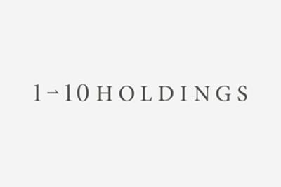 2012年4月に5社より設立した『株式会社ワン・トゥー・テン・ホールディングス』 http://www.1-10holdings.co.jp/
