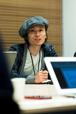 制作本部 本部長 ビジネスソリューション部 部長 和田正弘さん