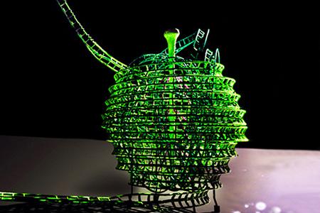 『Green Apple Museum』ドリームアップルジェットコースター