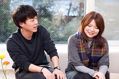 田中陽さん、森本友理さん