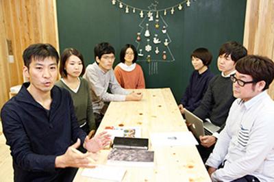 (左手前)株式会社budori 代表取締役社長 有村 正一さん