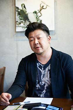 株式会社エンタクルグラフィックス 代表取締役 岩田文人さん
