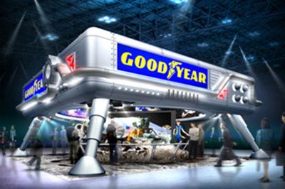 日本グッドイヤー『東京モーターショー2011』ブースイメージ
