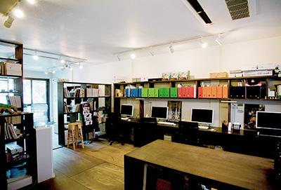 Wab Design INC. HeadOffice(サブオフィスであるANNEXは、ここから徒歩1分)