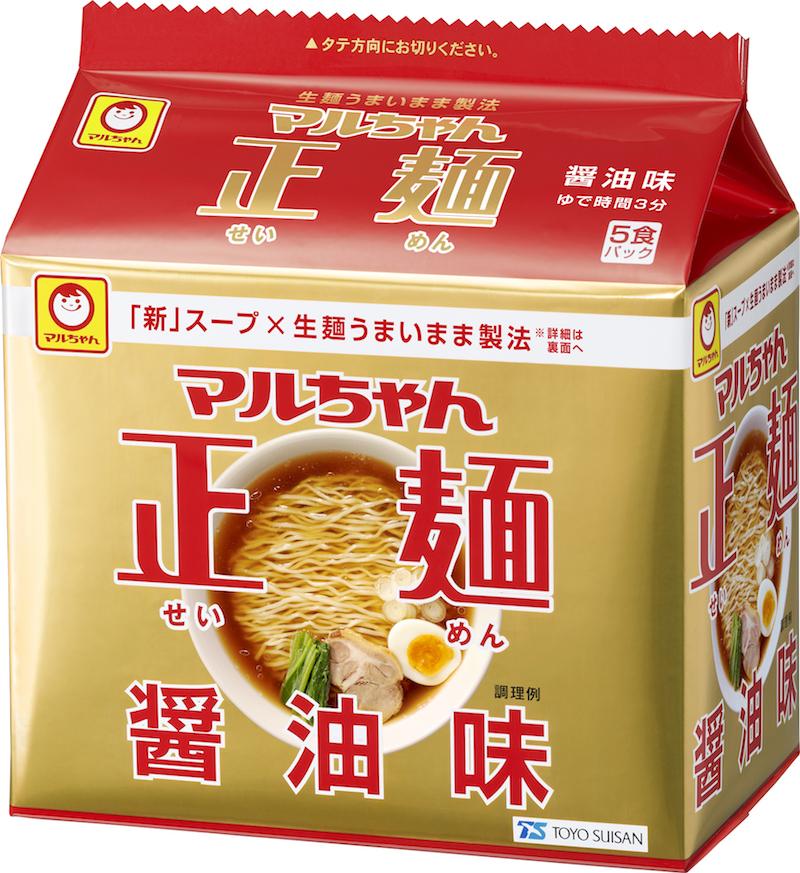 東洋水産『マルちゃん正麺』