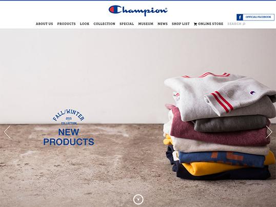 Champion日本公式サイト