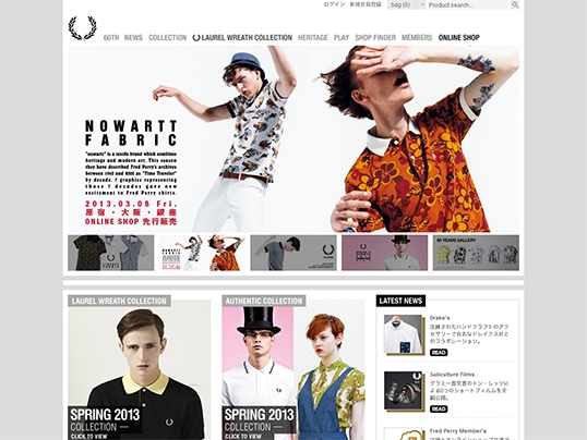 FRED PERRY日本公式サイト