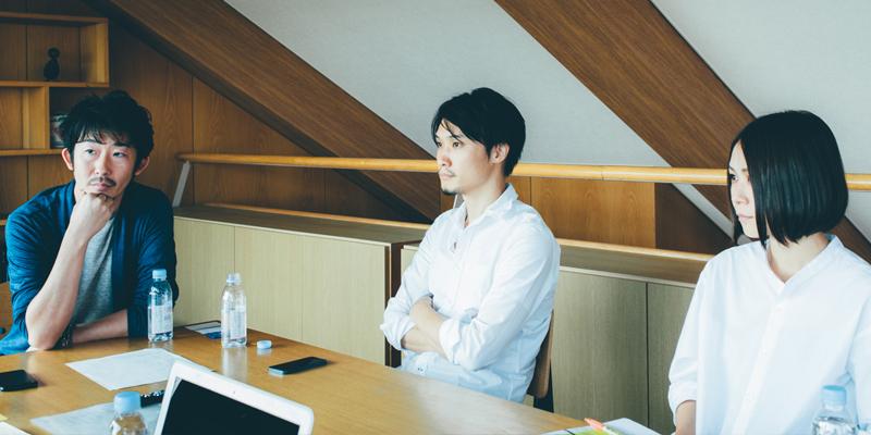 左から加藤宗大さん、永井俊行さん、吉澤麻衣さん