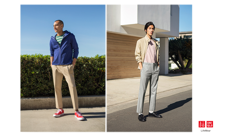 UNIQLO 18SS ANKLE PANTS KEY VISUAL
