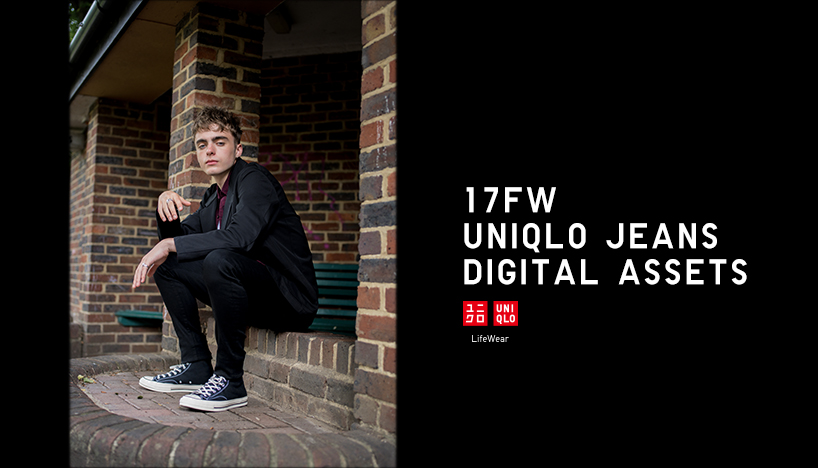UNIQLO 17FW JEANS DIGITAL ASSETS