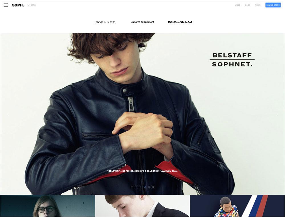 SOPH. ブランドサイト