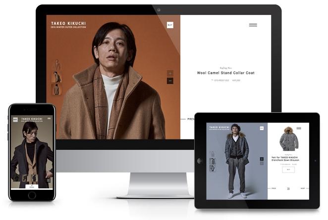 TAKEO KIKUCHI『2016 WINTER OUTER COLLECTION』/ 撮影・アートディレクション・WEB
