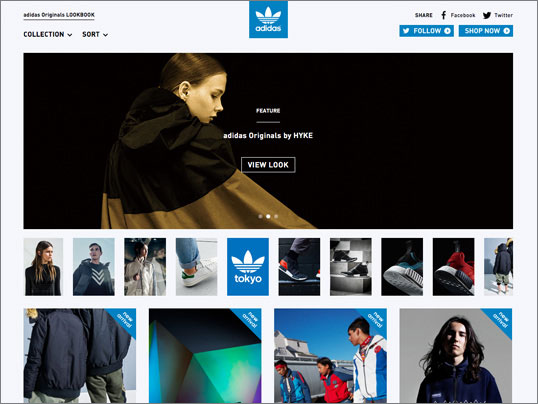 adidas Originals /  LOOKBOOK