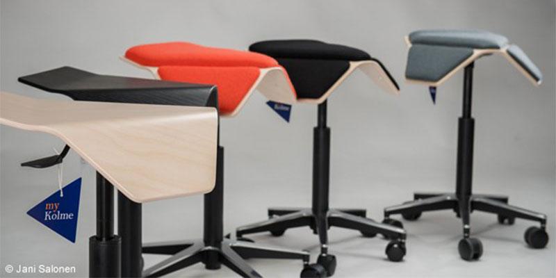 代表作はmyKolme design社に提供したILOA(イロア)チェアシリーズ。撮影:Jani Salonen