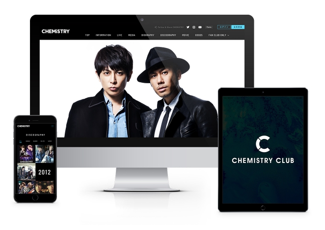 CHEMISTRY / オフィシャルサイト
