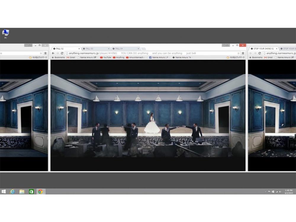 Namie Amuro 『Anything』 for Google Chrome