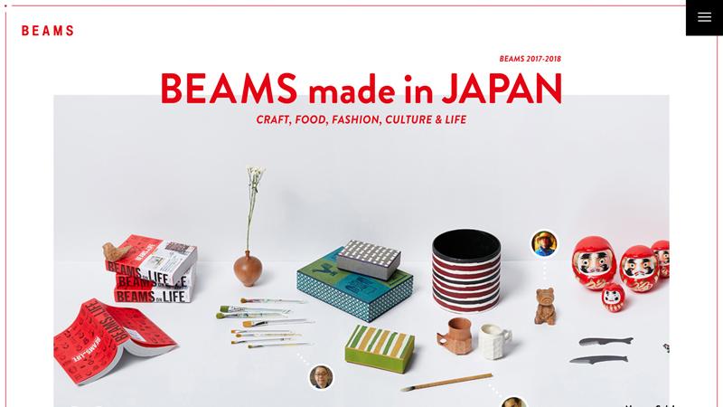 BEAMS made in JAPAN