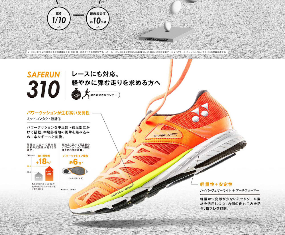 SAFERUN / RUNNING SHOSE