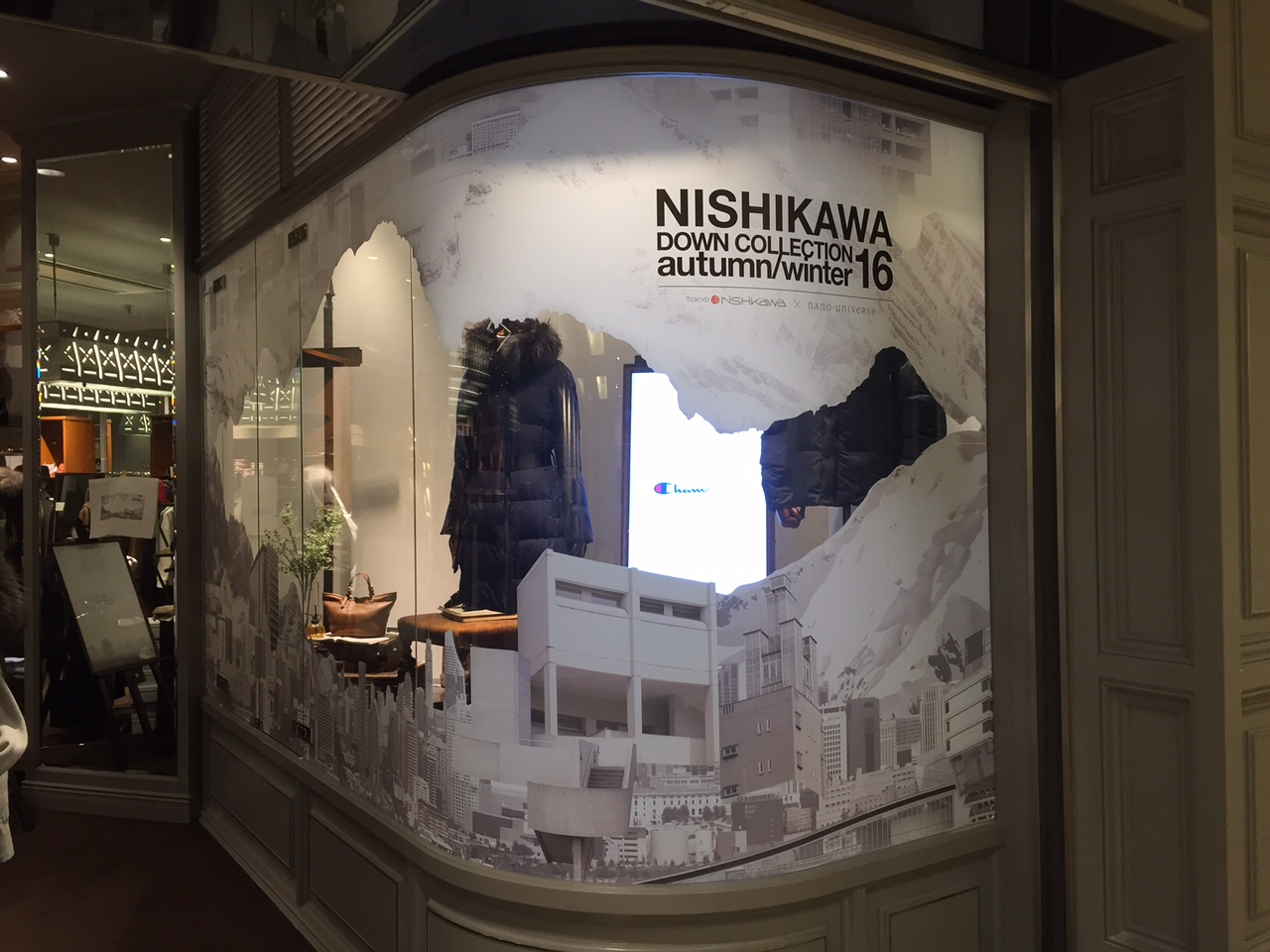 NISHIKAWA DOWN COLLECTION autumn/winter 2016