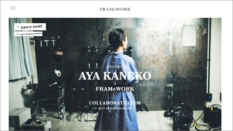 AYA KANEKO meets FRAMeWORK