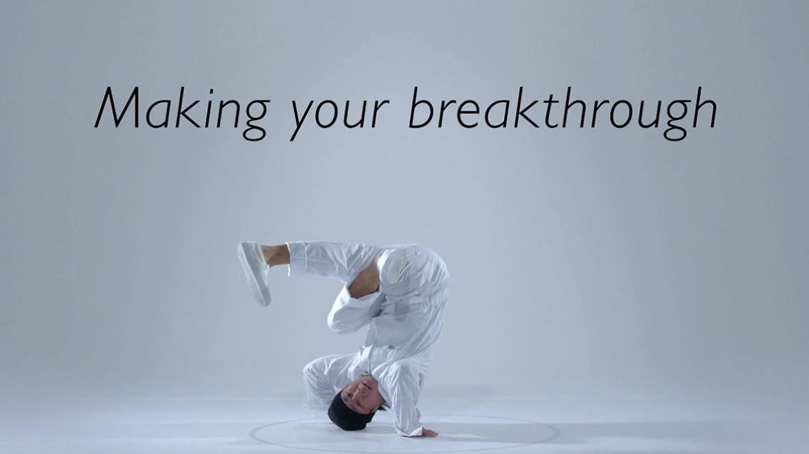 ぺんてる『Pentel ORENZ Making your break through』 / WEB-CM