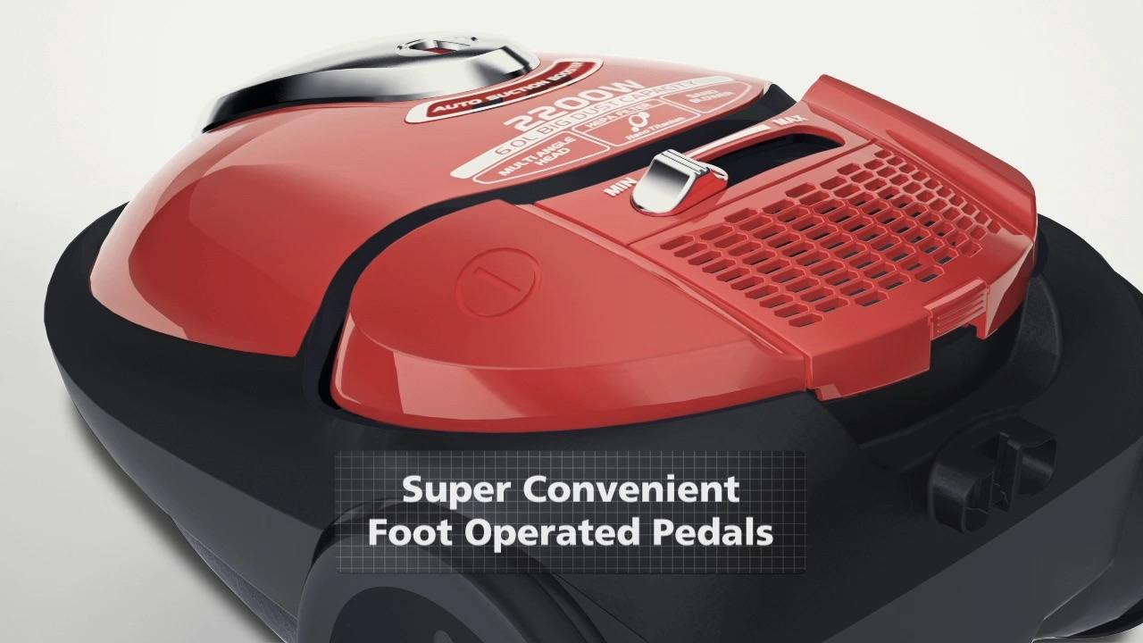 Hitachi Swivel Vacuum Cleaner(CV-BA22V) / テレビCM