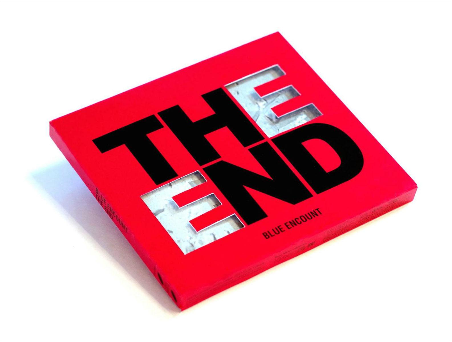 BLUE ENCOUNT『THE END』 / CDジャケットデザイン