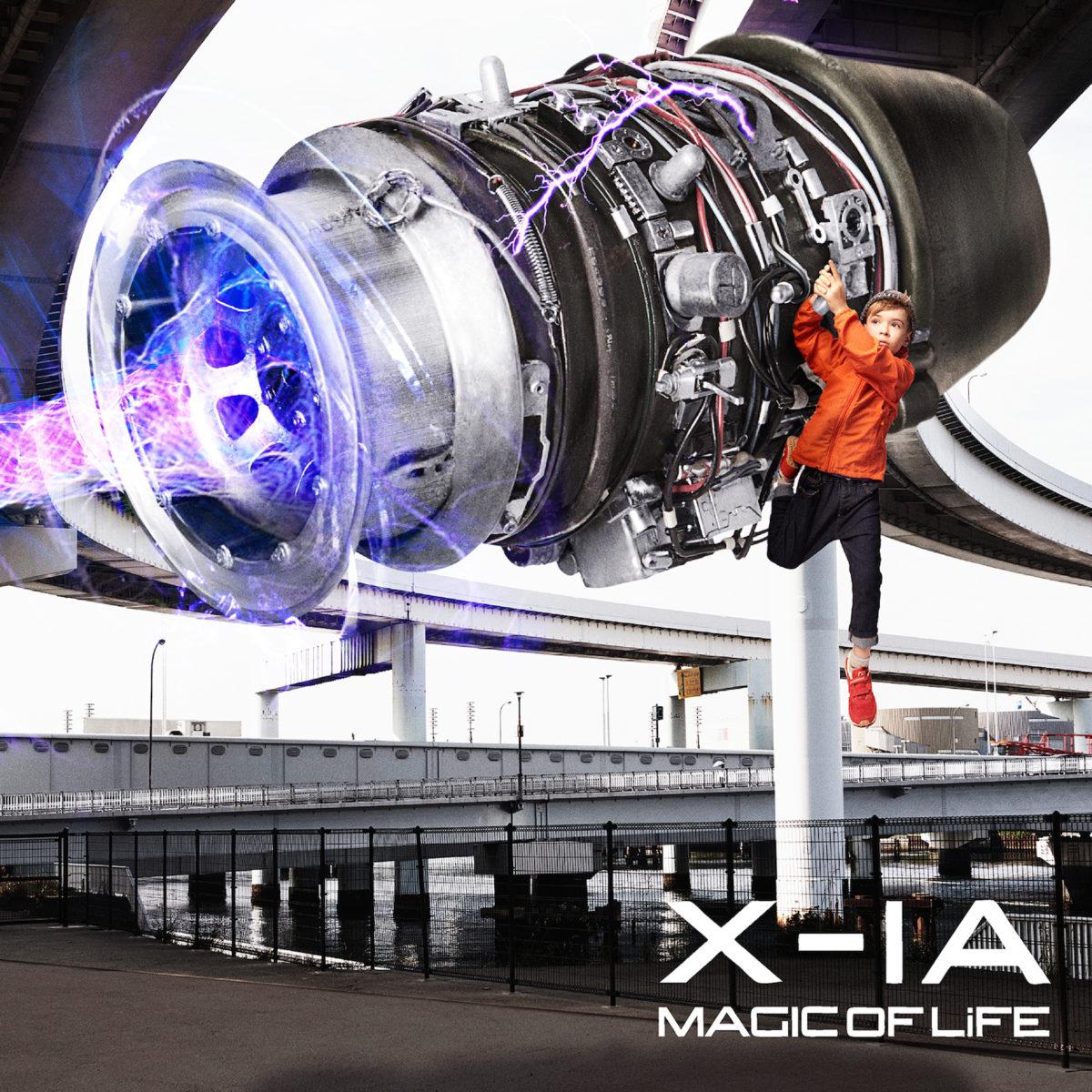 MAGIC OF LIFE『X-1A』 / CDジャケットデザイン