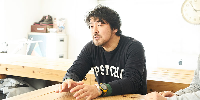 代表取締役CEO 酒井智啓さん