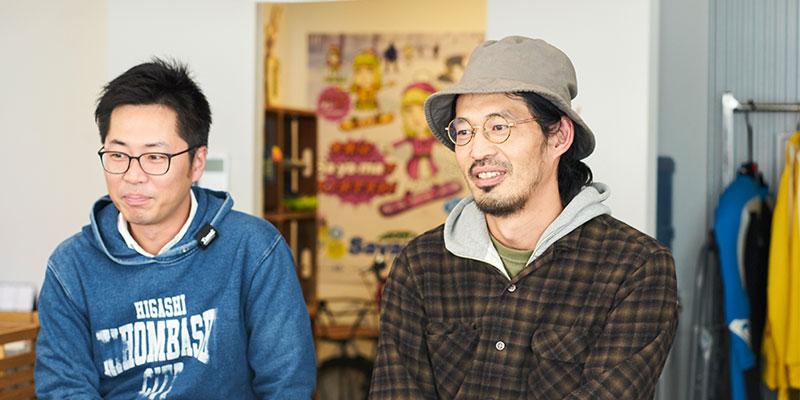 右:ディレクター 吉原圭太さん