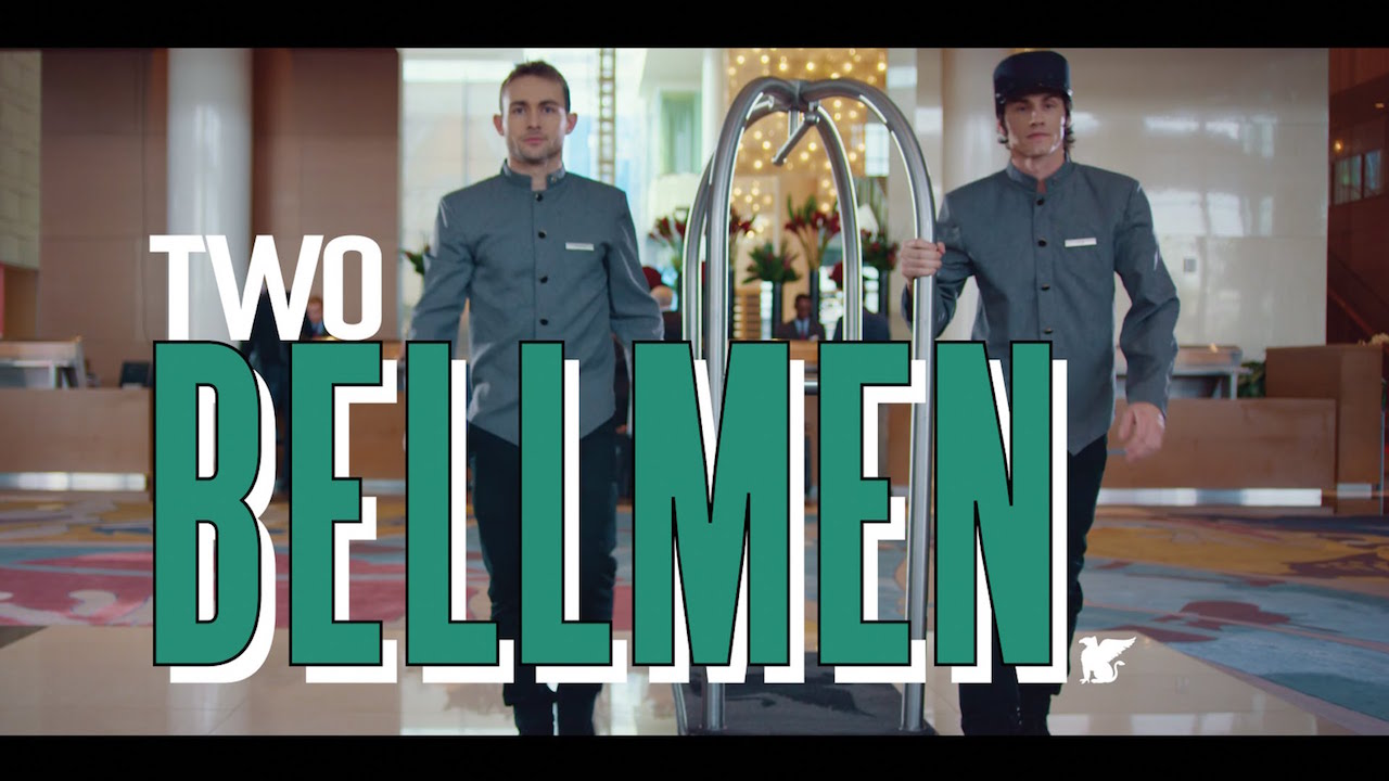 JW Marriot『Two Bellmen』