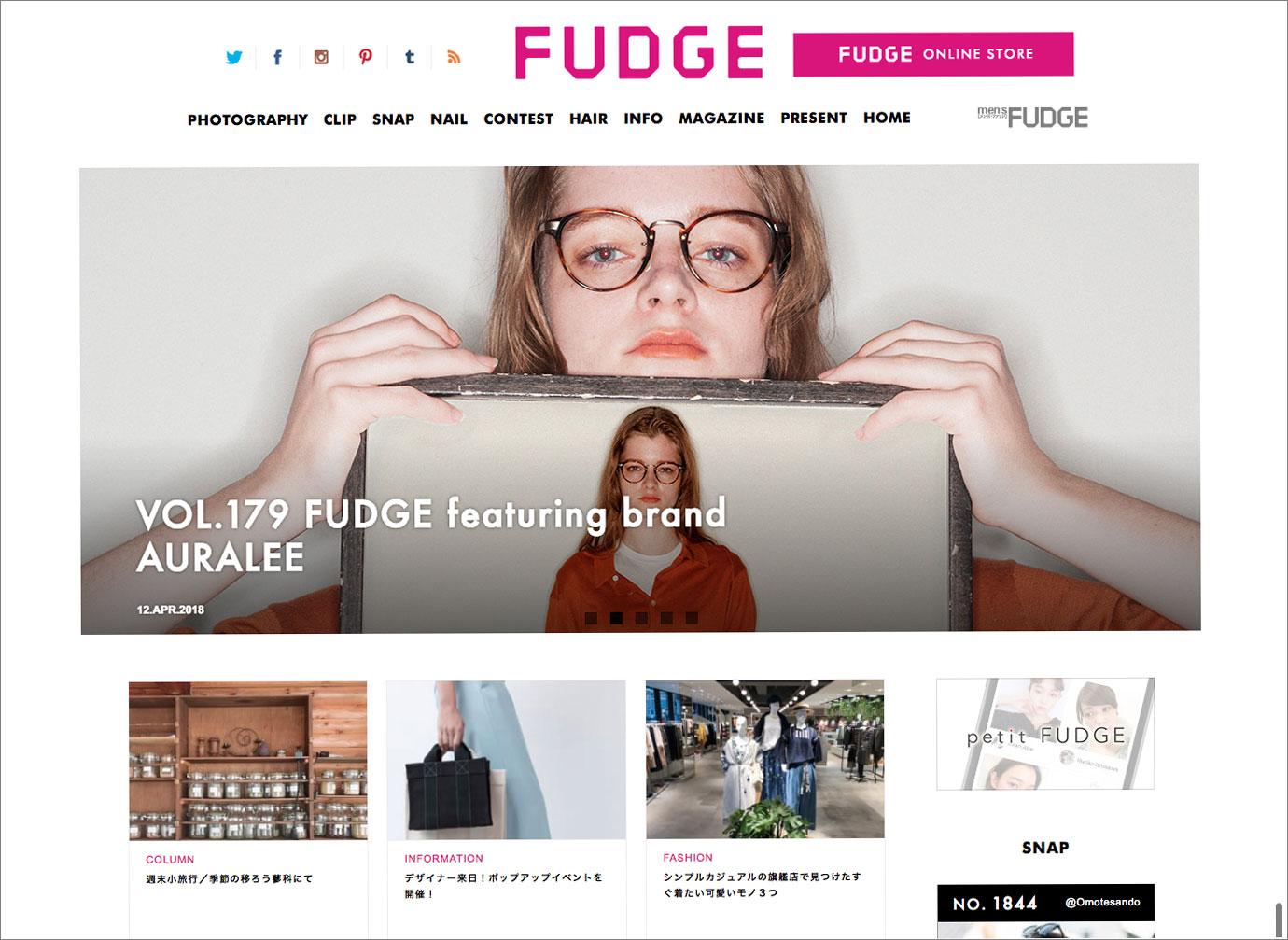 『FUDGE.JP』
