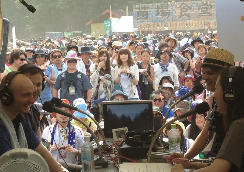 FUJI ROCK FESTIVAL公開生放送