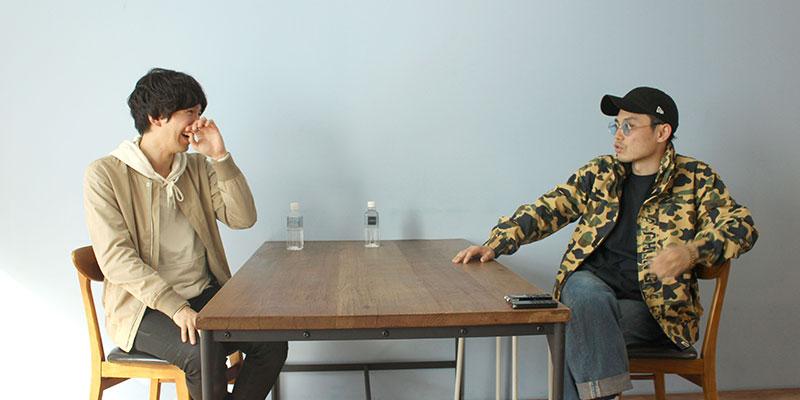 左:カツセマサヒコさん / 右:AbemaTV 恩納力さん