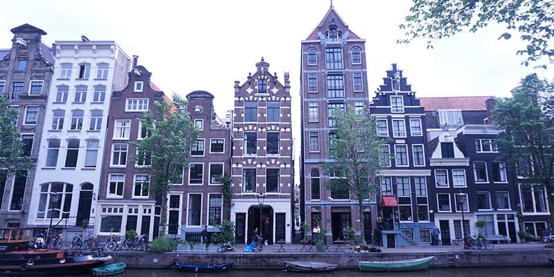 アムステルダムオフィスから見える景色