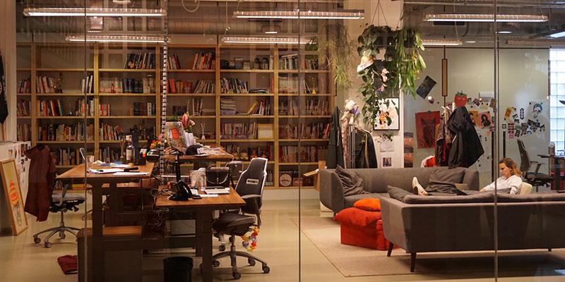 アムステルダムのオフィス