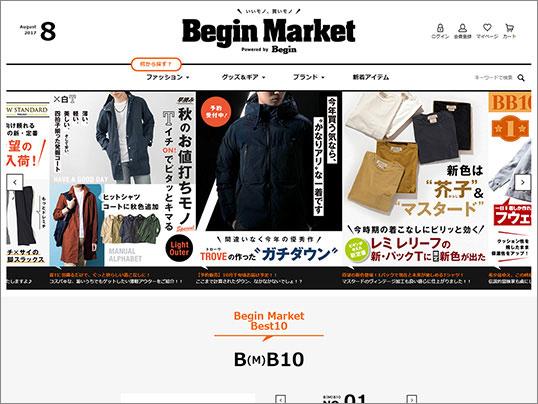 Begin Market