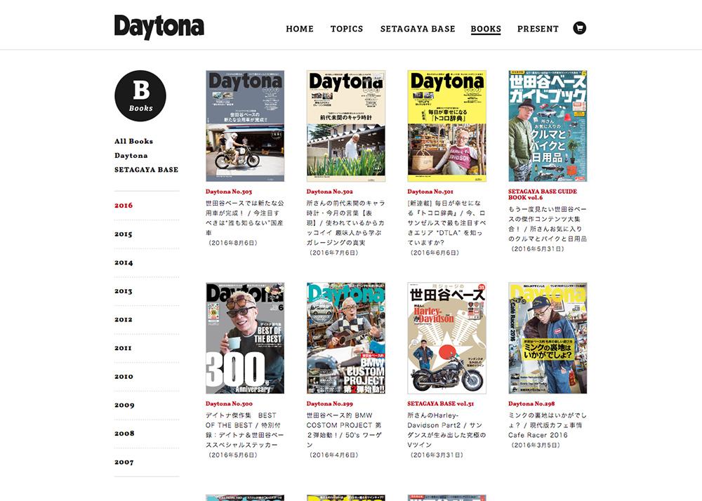 Daytona : デイトナ:ホビダス by ネコ・パブリッシング