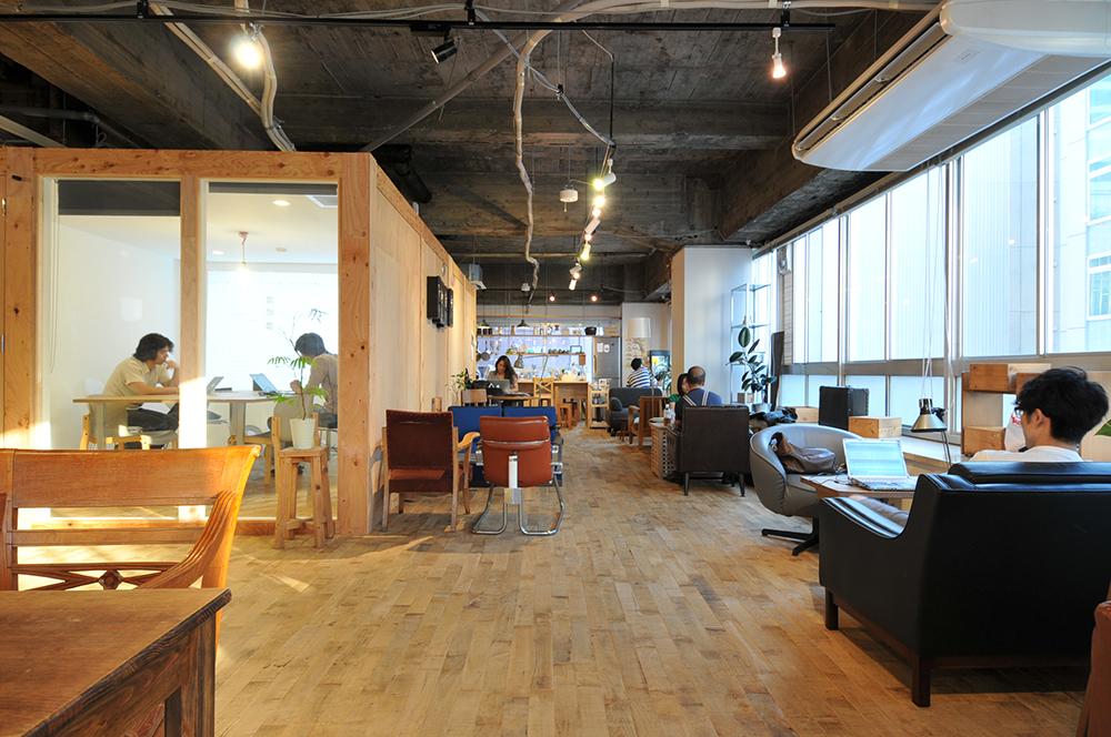渋谷のオープンオフィス『PoRTAL』