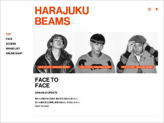 HARAJUKU BEAMS | FACE TO FACE