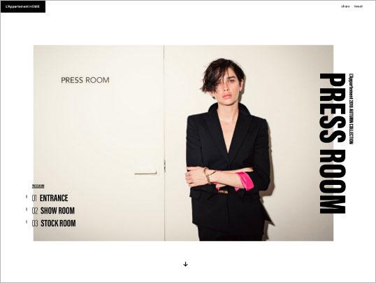 L'Appartement | PRESS ROOM