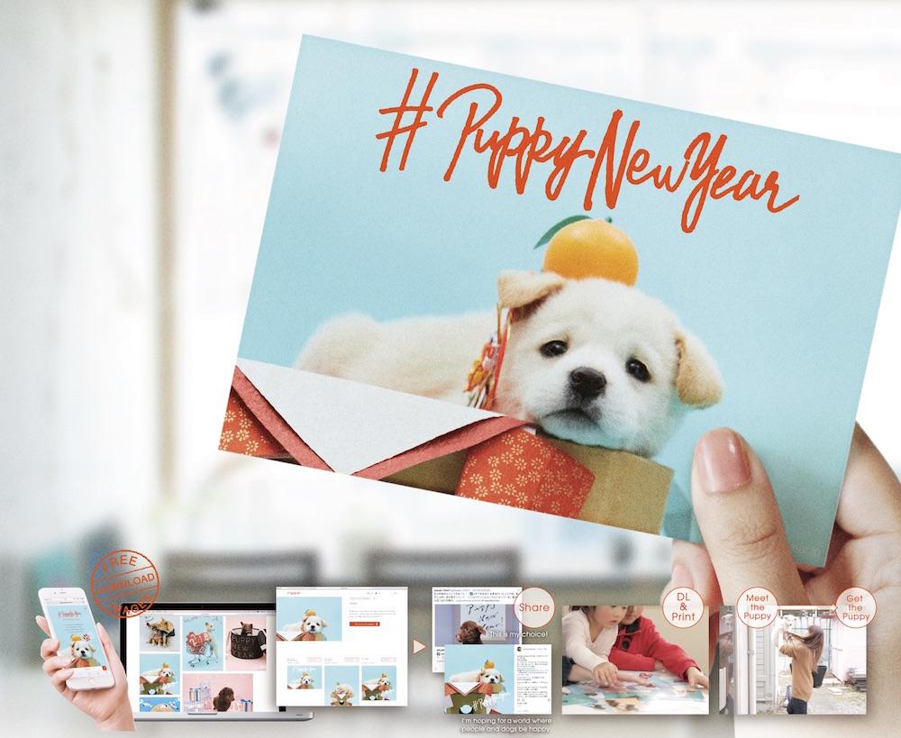 #Puppy New Year