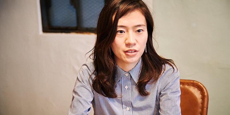 バックオフィスの丑田美奈子さん