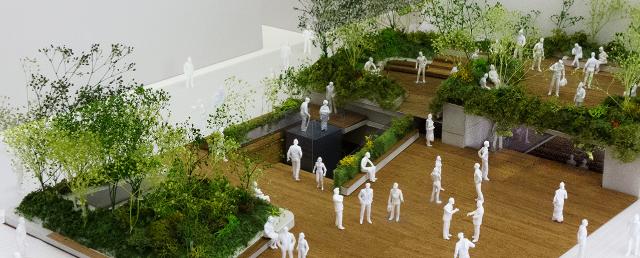 「Ginza Sony Park Project」第一段階 完成イメージ(画像提供:ソニー)