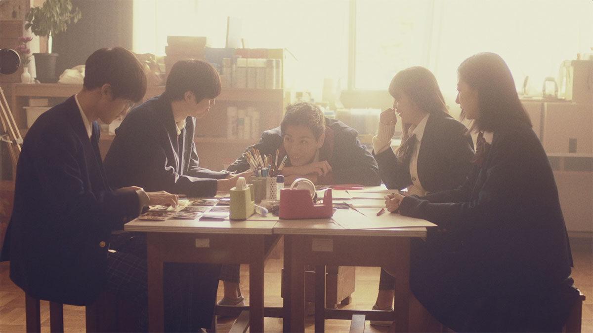 WEB Drama / リアルライフシンクロ型ドラマ『恋のはじまりは放課後のチャイムから』(©Y!mobile,2018)