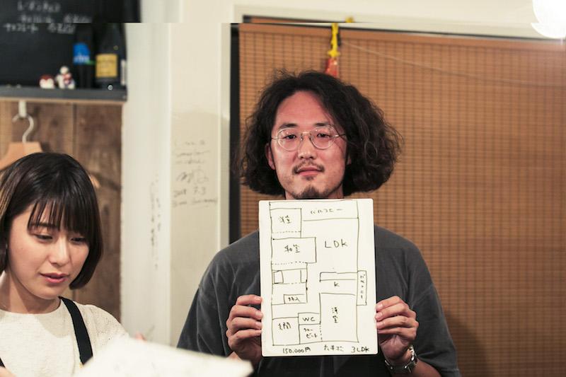 天神駅まで地下鉄で8分という好立地で、近年、飛躍的な発展を遂げている「六本松」のマンション。家族4人で3LDK・100平米ほどの部屋を借りているんだそう。「東京に住んでいた時と同じ家賃で、1.5倍の広さのマンションを借りることができました」と桜井さん。