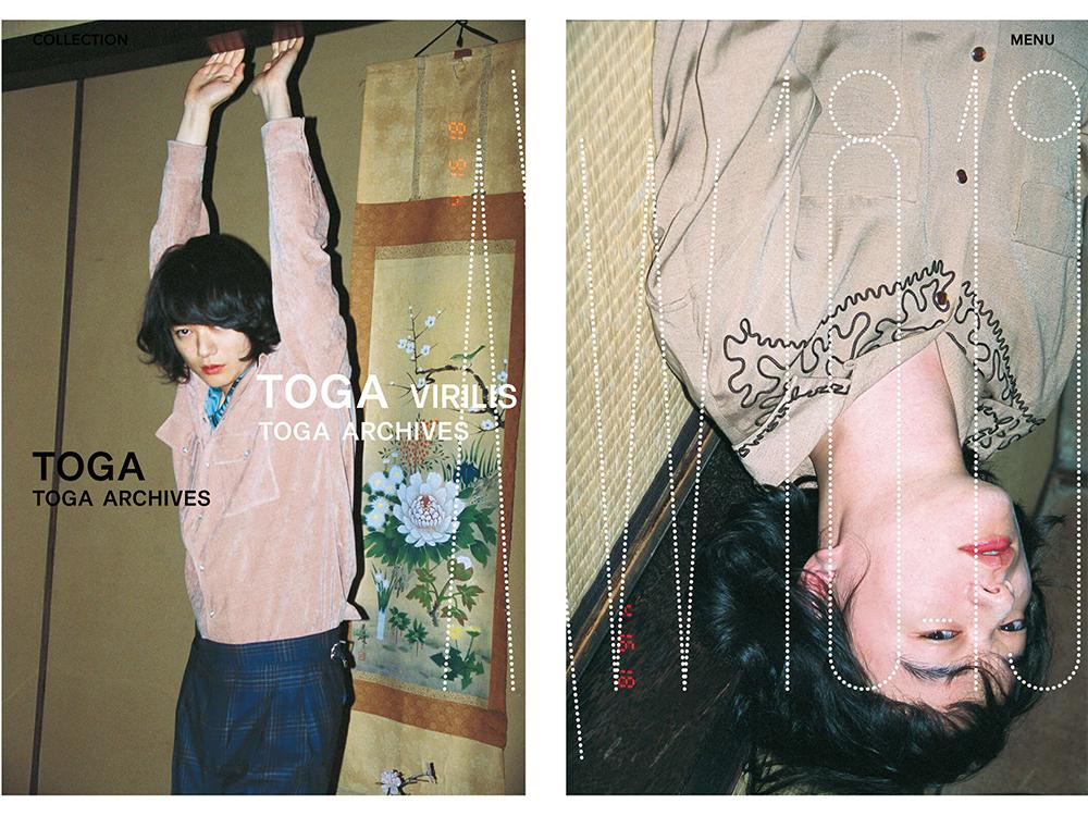 TOGA / ブランドサイト