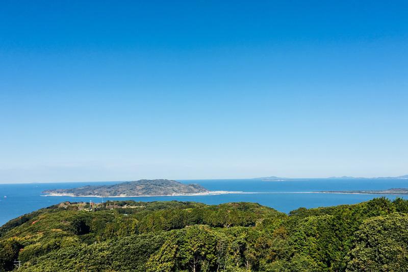 能古島からの景色(画像提供:青柳佑弥さん)