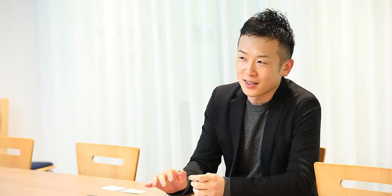代表取締役社長 河野貴伸さん